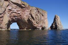 Une partie de Le Rocher Percé photographie stock libre de droits