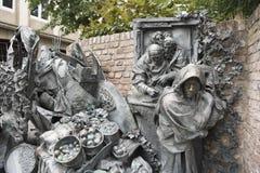 Une partie de monument des privilèges de concession de Dusseldorf image stock
