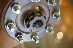 Une partie de moteur photographie stock