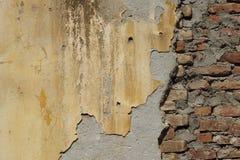 Une partie de mur de briques Fond abstrait et texturisé photos libres de droits
