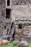 Une partie de mur de cathédrale de Svetitskhoveli Photographie stock libre de droits