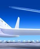 Une partie de petit avion Image libre de droits