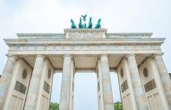 Une partie de Porte de Brandebourg, Berlin Germany Images stock