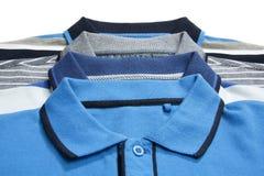 Une partie de quelques chemises de polo d'homme Photographie stock