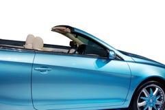 Une partie de roadster bleu images libres de droits