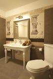 Une partie de salle de bains Photos stock