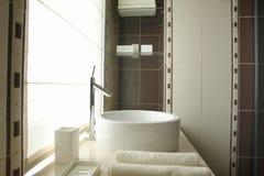 Une partie de salle de bains Photographie stock