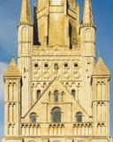 Une partie de tour de cathédrale de Norwich photographie stock libre de droits