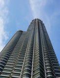 Une partie de tour de Petronas en Kuala Lumpur, Malaisie Photos libres de droits
