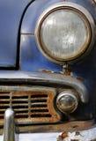 Une partie de véhicule rouillé Image libre de droits