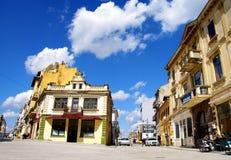 Une partie de vieille ville de Constanta, Roumanie Image libre de droits