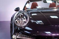 Une partie de voiture de sport Image stock