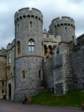 Une partie de Windsor Castle. Photographie stock