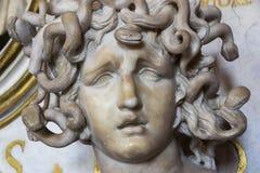 Une partie du buste de la méduse Photographie stock libre de droits