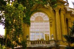 Une partie du château de Vajdahunyad, château à Budapest, Hongrie Photographie stock