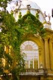 Une partie du château de Vajdahunyad, château à Budapest, Hongrie Photographie stock libre de droits