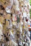 Une partie du mur couvert de messages d'amour en maison de Juliet, Vérone, Images stock