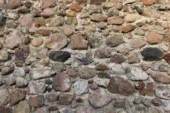 Une partie du mur de la forteresse Photos stock