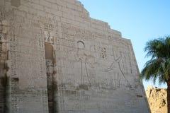 Une partie du temple dans la ville des morts à Louxor Photo libre de droits