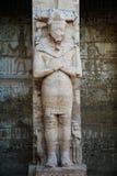 Une partie du temple dans la ville des morts à Louxor Images libres de droits