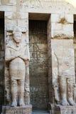 Une partie du temple dans la ville des morts en Egypte Image stock