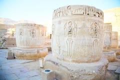 Une partie du temple dans la ville des morts en Egypte Image libre de droits