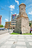 Une partie du vieux fort de La Havane et mur, Cuba image stock
