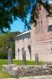 Une partie du vieux temple Photographie stock libre de droits