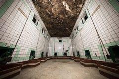 Une partie intérieure d'une vieille cave photographie stock libre de droits