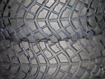Une partie pneu de tout neuf de véhicule photos libres de droits