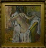 Une peinture par Hilaire German Edgar Degas dans le National Gallery à Londres images stock