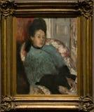 Une peinture par Hilaire German Edgar Degas dans le National Gallery à Londres photos stock
