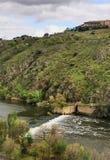Cascade à Toledo, Espagne Photo libre de droits