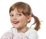 Une petite fille heureuse photos stock