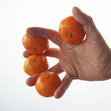 Une petite mandarine image stock