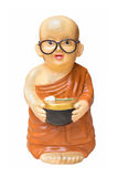 Une petite poupée de moine images libres de droits