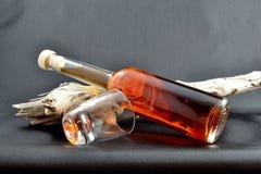 Bouteille de liqueur Photographie stock libre de droits