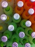 Une photo de regard-vers le bas des boissons Image stock