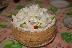 Une photo du gâteau image stock