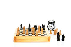Une pièce des échecs Photographie stock