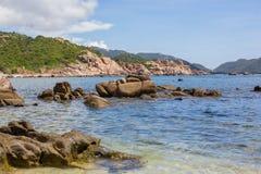 Une PIC en Binh Ba Island Photographie stock libre de droits