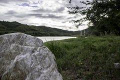 Une pierre Photo stock