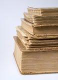 Une pile de livres de cru Image libre de droits