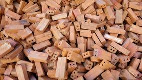Une pile des briques Image libre de droits