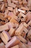 Une pile des briques Image stock