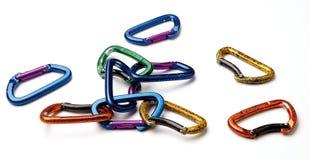 Une pile des crochets instantanés Photo stock