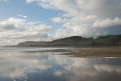 Une plage vide Images libres de droits