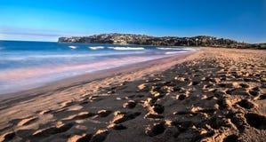 Une plage vide Photographie stock libre de droits