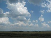 Une plaine serbe fertile Photographie stock