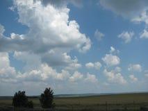 Une plaine serbe fertile Photos libres de droits